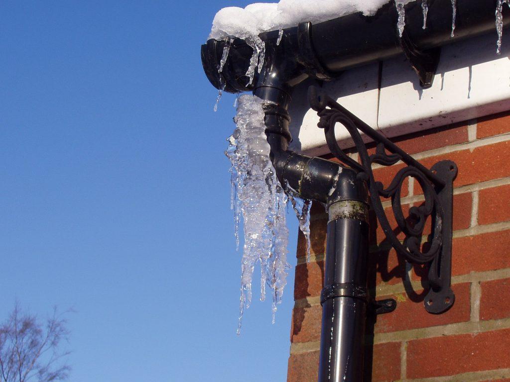 congelación de tuberías
